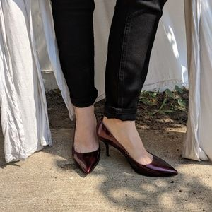6709d88097ff kate spade Shoes - Kate Spade Jessa Patent Ruby Red Heel▫️7.5